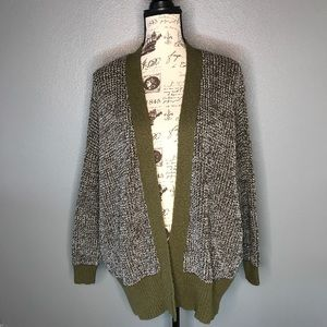 Urban Outfitters chunky Knit open Cardigan Size M